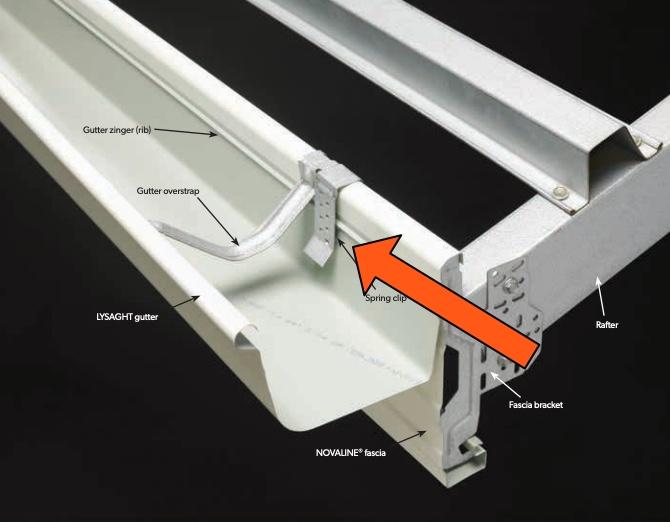 Metal Fascia Spring Clip Metal Roofing Online