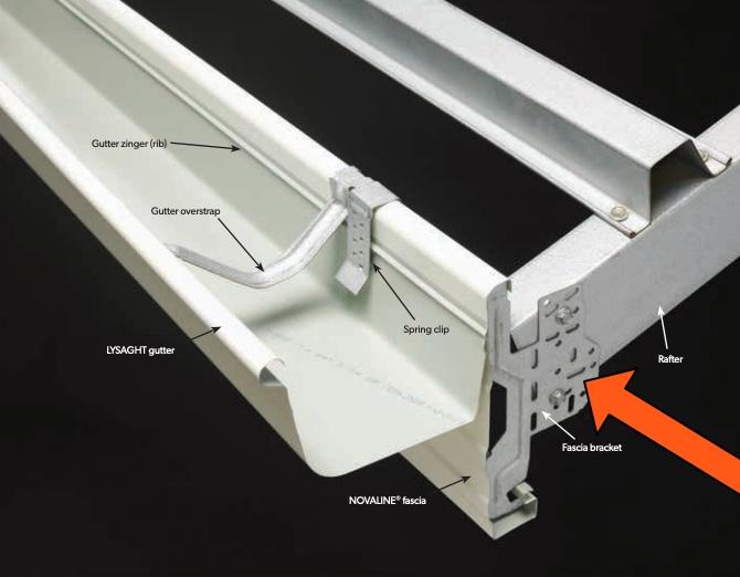 Fascia Standard Rafter Clip Brackets Metal Roofing Online