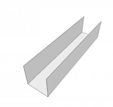 Box Gutter Profile