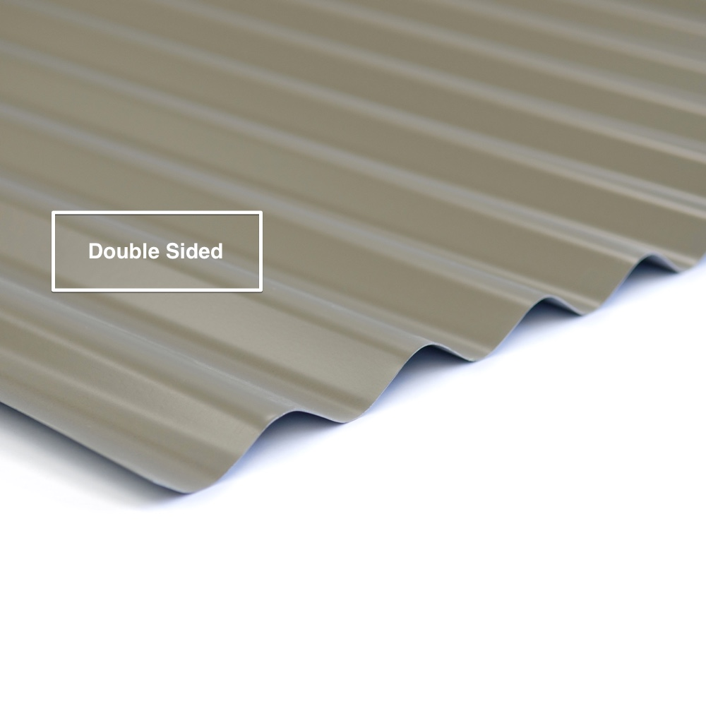 Double Sided Colorbond Corrugated Iron
