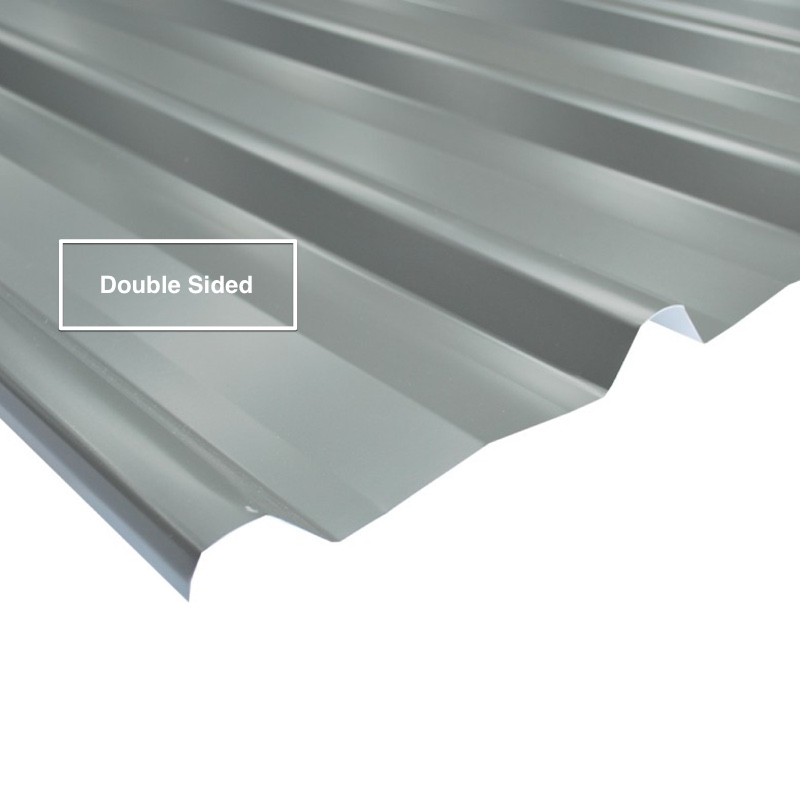 DOUBLE SIDED COLORBOND® Trimdek Roofing Sheets .42 bmt logo