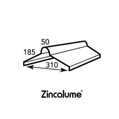 ZINCALUME® Roll Top Ridge Capping .42 BMT logo
